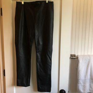 Ralph Lauren faux leather pants size 10